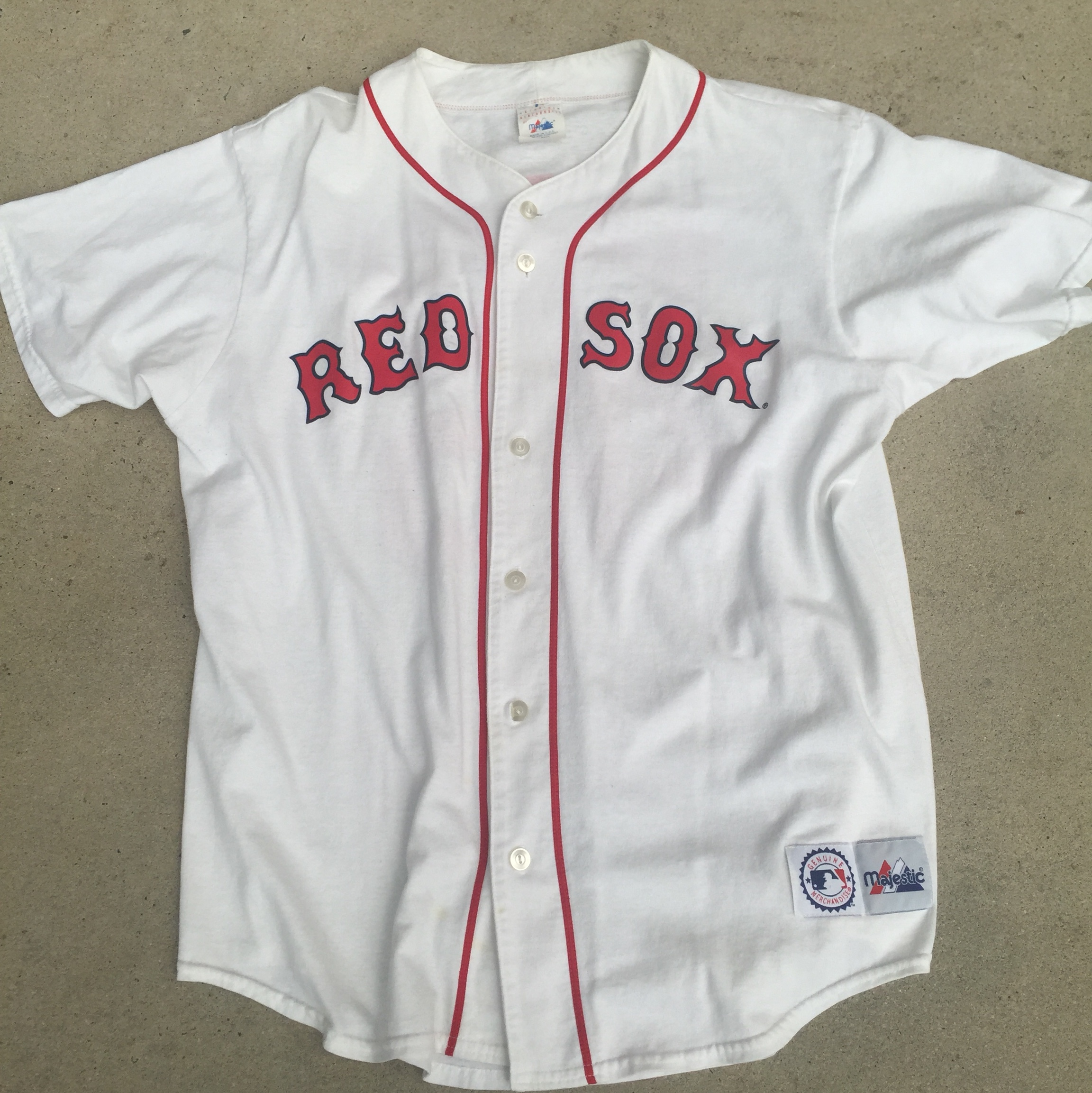 buy online 71bf7 4a81a Pedro Martinez Boston Red Sox Jersey. MLB Red Sox... - Depop