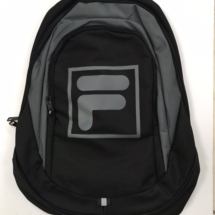 FILA backpack rucksack black grey </p>                     					</div>                     <!--bof Product URL -->                                         <!--eof Product URL -->                     <!--bof Quantity Discounts table -->                                         <!--eof Quantity Discounts table -->                 </div>                             </div>         </div>     </div>     