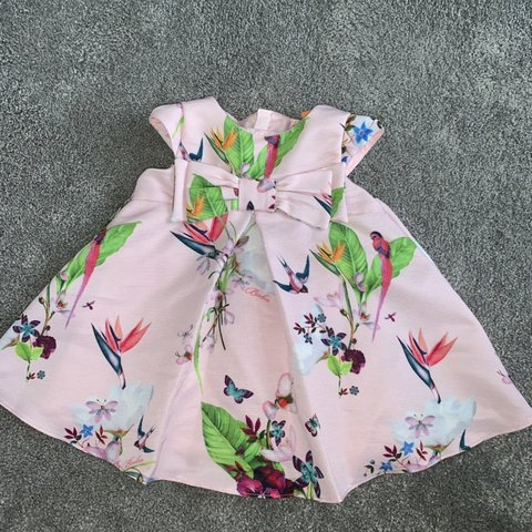 d457a5145 Ted baker baby girl dress 3-6 months! Wore once great baker - Depop