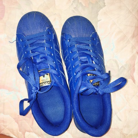 reputable site f283b 8612f  adidas  superstar  supercolor blu taglia- 0