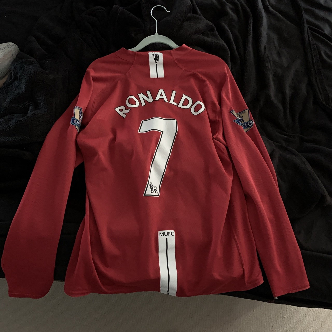 best sneakers 5e3c0 b7332 Manchester United Jersey 07/08 Ronaldo 7, bought... - Depop