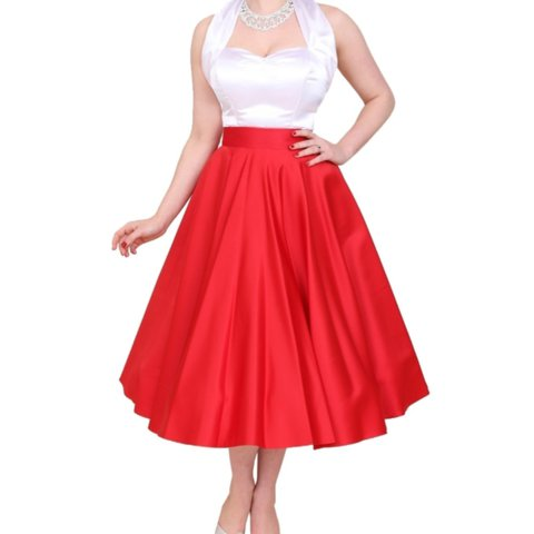 bcabd8909f5 Vivien of Holloway 1950s style Circle Skirt. High waisted