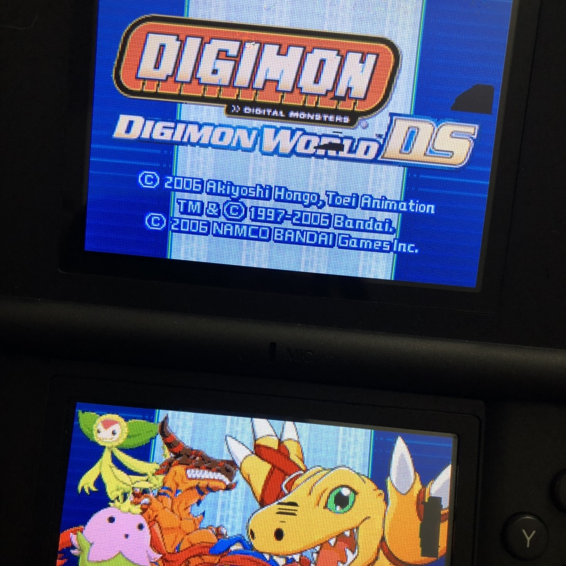 Digimon DS game  Game photo is ripped off    - Depop