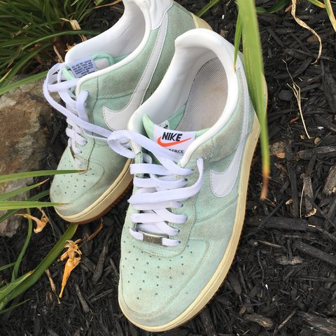 uk availability c77c1 ba2d3 ⭐ LIMITED EDITION NIKE AIR FORCE 1 ARCTIC GREEN⭐ i love so - Depop