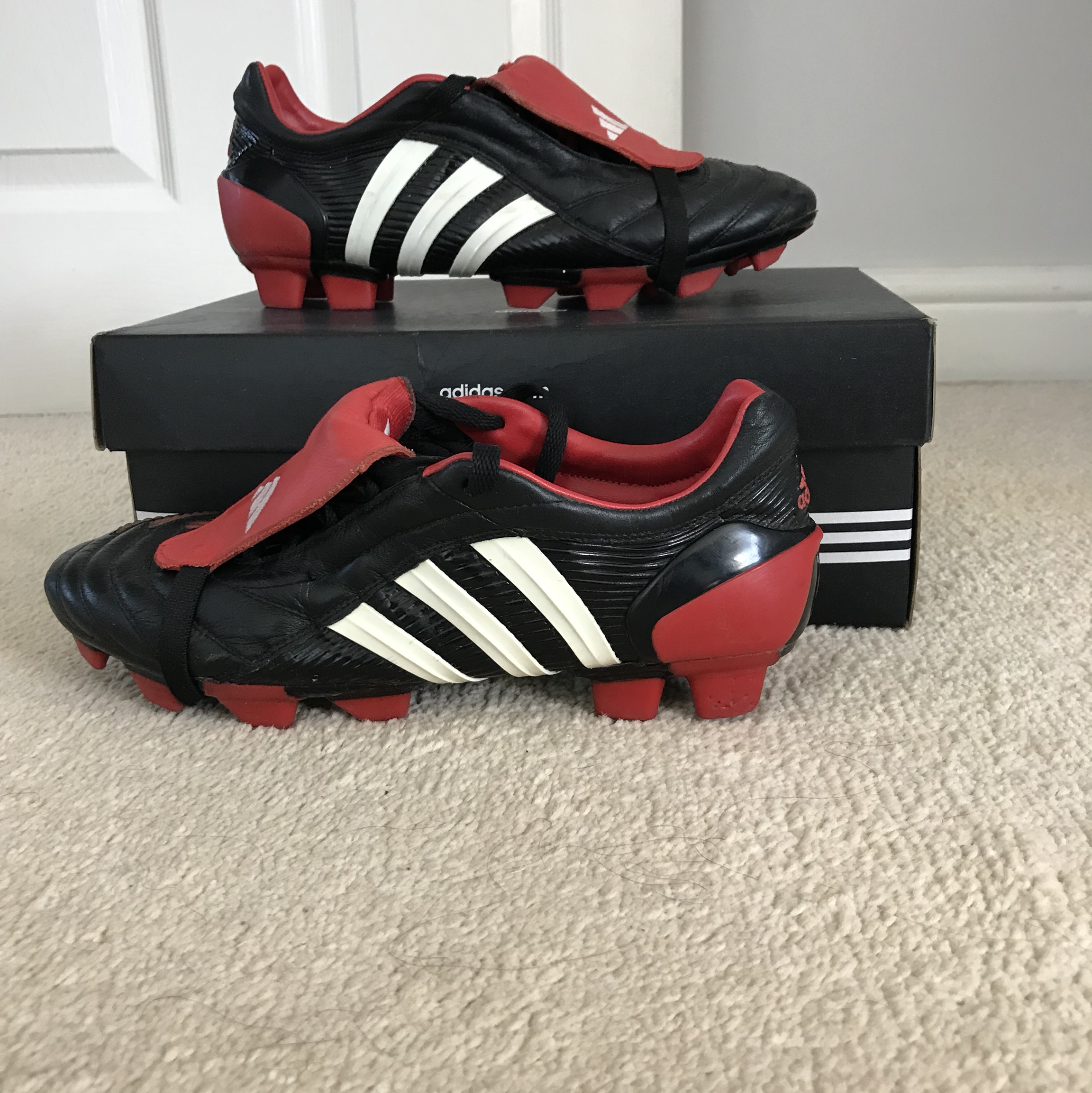 reliable quality shop watch Adidas predator pulse 2004 pro boot. Firm ground,... - Depop