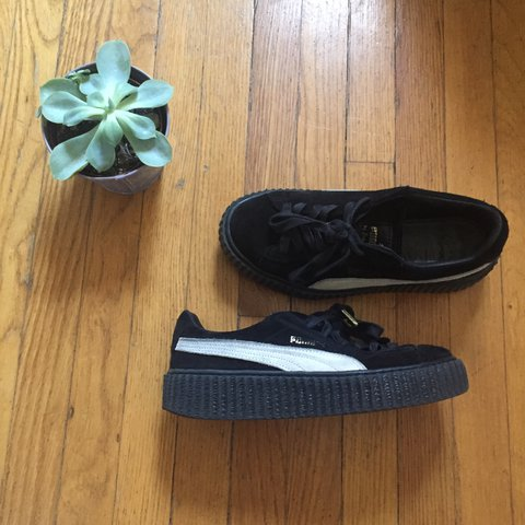e2c8c0259658 FENTY by Rihanna Puma creepers. Worn a few times. Super with - Depop