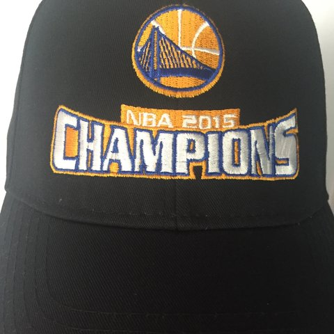 1e909df68a7e94 @modviking13. 3 years ago. Pacific Grove, CA, USA. Golden State Warriors hat,  new with tags, 2015 NBA Champions!