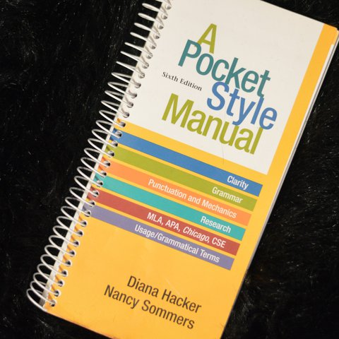 A Pocket Style Manual 6th Edition College English College Depop