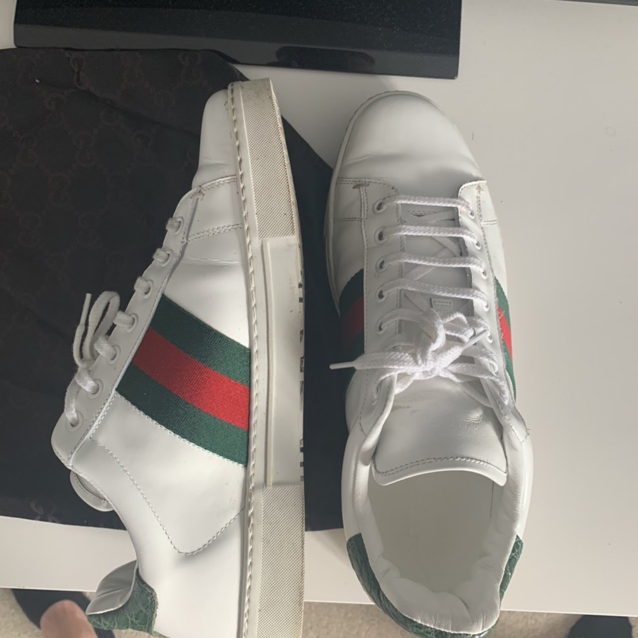 Vintage Gucci ace trainers from 2005