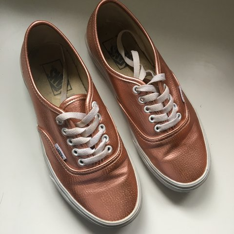 49d918c7e5621d Pink Authentic vans in rose glitter. Have been worn but they - Depop