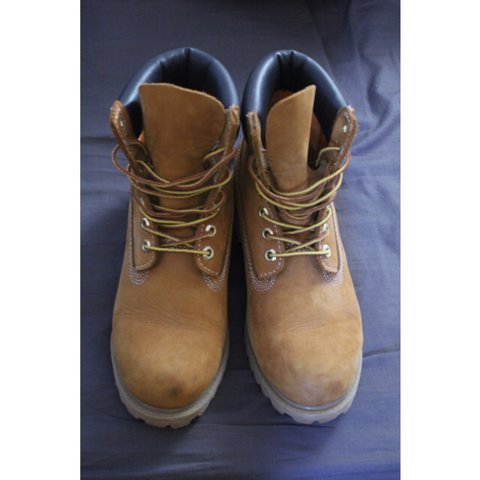 0901ecb1 Women's Mid Timberlands. Tan. *SIZE 6* Bought for £170. Only - Depop