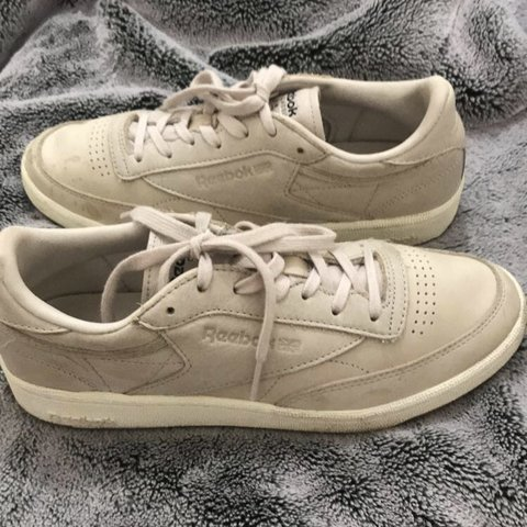 2d5d342add5bc6 Reebok Club C Trainers in Blush and Rose gold-Size 6. Bought - Depop