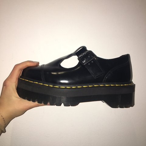 114dae986cb Dr Martens Bethan UK 4 Rare platform t bar shoes in almost a - Depop