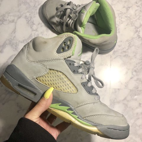 "san francisco 30f06 513d9 Air Jordan Retro 5 ""Green- 0"