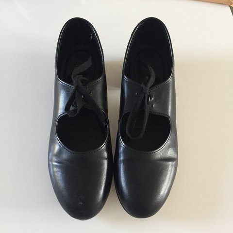 21efe11a60ff Roch Valley adult black tap shoes - size 7 - I used these so - Depop