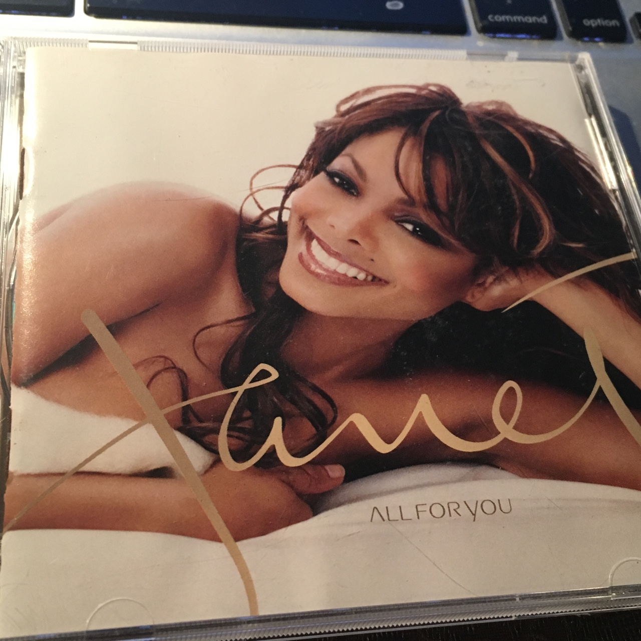 Janet Jackson All for you cd  Flawless used    - Depop