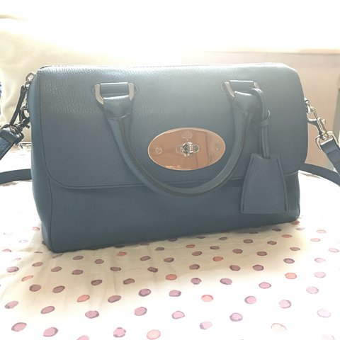 Mulberry del Rey bag small in state blue used but very good - Depop e0f6e5411f20f
