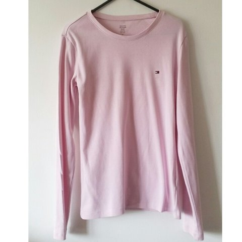 58db1072f @lvaughan123. 3 years ago. Orpington, United Kingdom. Tommy Hilfiger Ladies  baby pink long sleeve sweater. Only ...