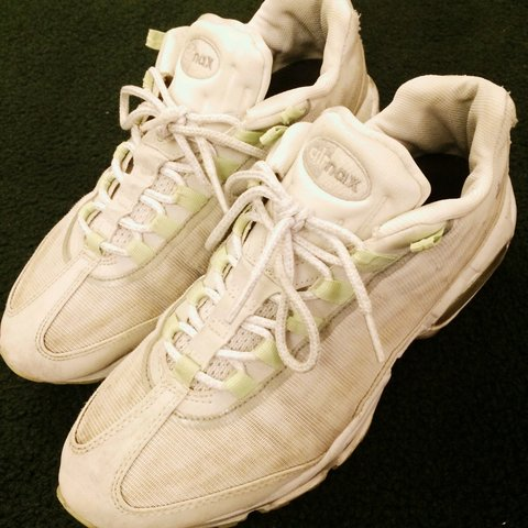 finest selection d5897 eb489  nickanscombe. 4 years ago. United Kingdom. Nike air max 95 premium tape  glow in the dark.