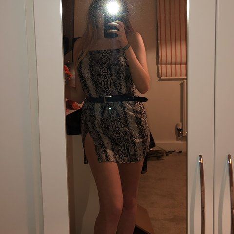 2bacb3a9354ec @ellacaseley. 5 months ago. Leicester, United Kingdom. motel rocks datista  dress in snake print