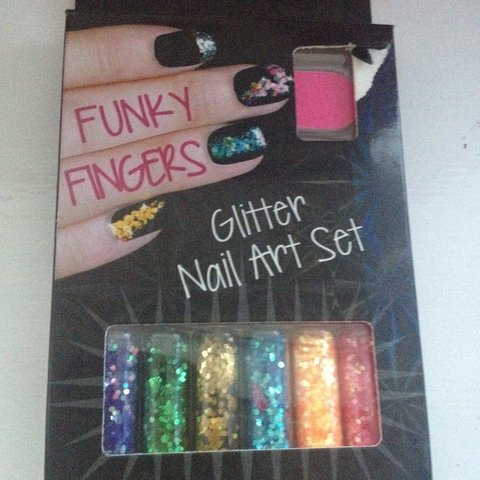 Funky Fingers Nail Art Setopened Box But Never Used Rip In Depop
