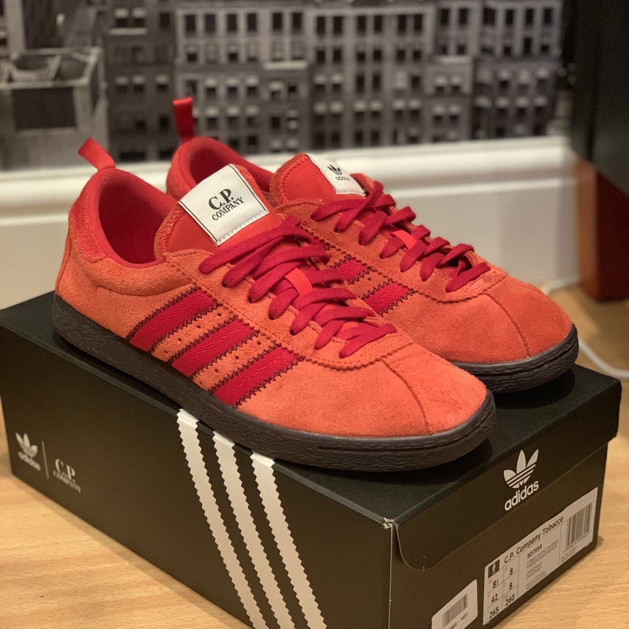 on sale 4d0eb a2707 Adidas x Cp Company Tobacco trainers, very sought... - Depop