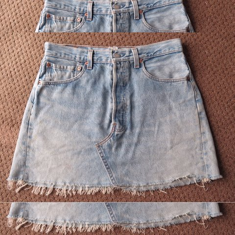 f3bff4f1dc LEVIS BLUE DENIM SKIRT vintage bought from urban outfitters - Depop