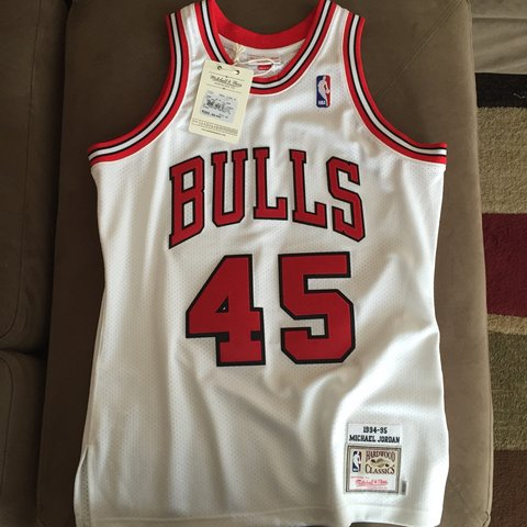 best loved 4554a 60cc1 chicago bulls 45 jersey