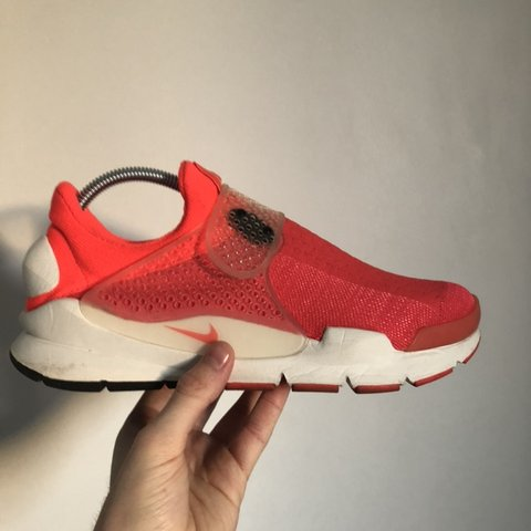 d28c47a807b Nike Lab Sock Dart - infrared Size - UK7 Condition- 8 10 - - Depop