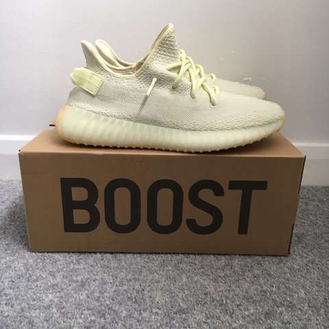 fdf2ff4b0 Adidas Yeezy Boost 350 V2  Butter  Size - UK8.5 (fits like - Depop