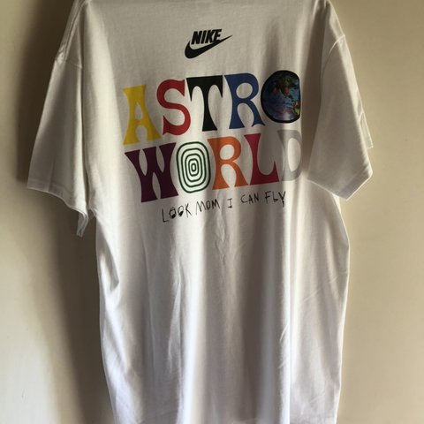 365b1cf91a0a Custom Nike Astroworld Travis Scott T Shirt - Depop