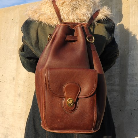 1cbae98c52 FREE SHIPPING 🖤✨ Coach New York Vintage Brown BackPack , a - Depop