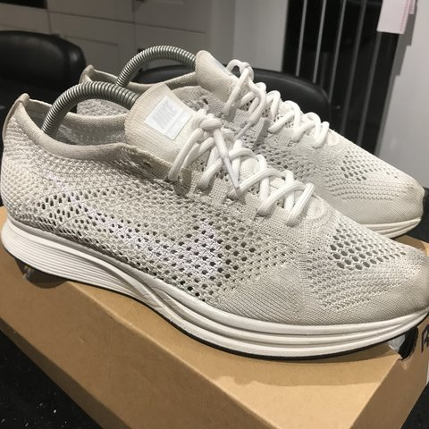 new arrival 382ed 802cd  tm96. 5 months ago. United Kingdom. WHITE NIKE FLYKNIT RACER    ROPE LACES  ...