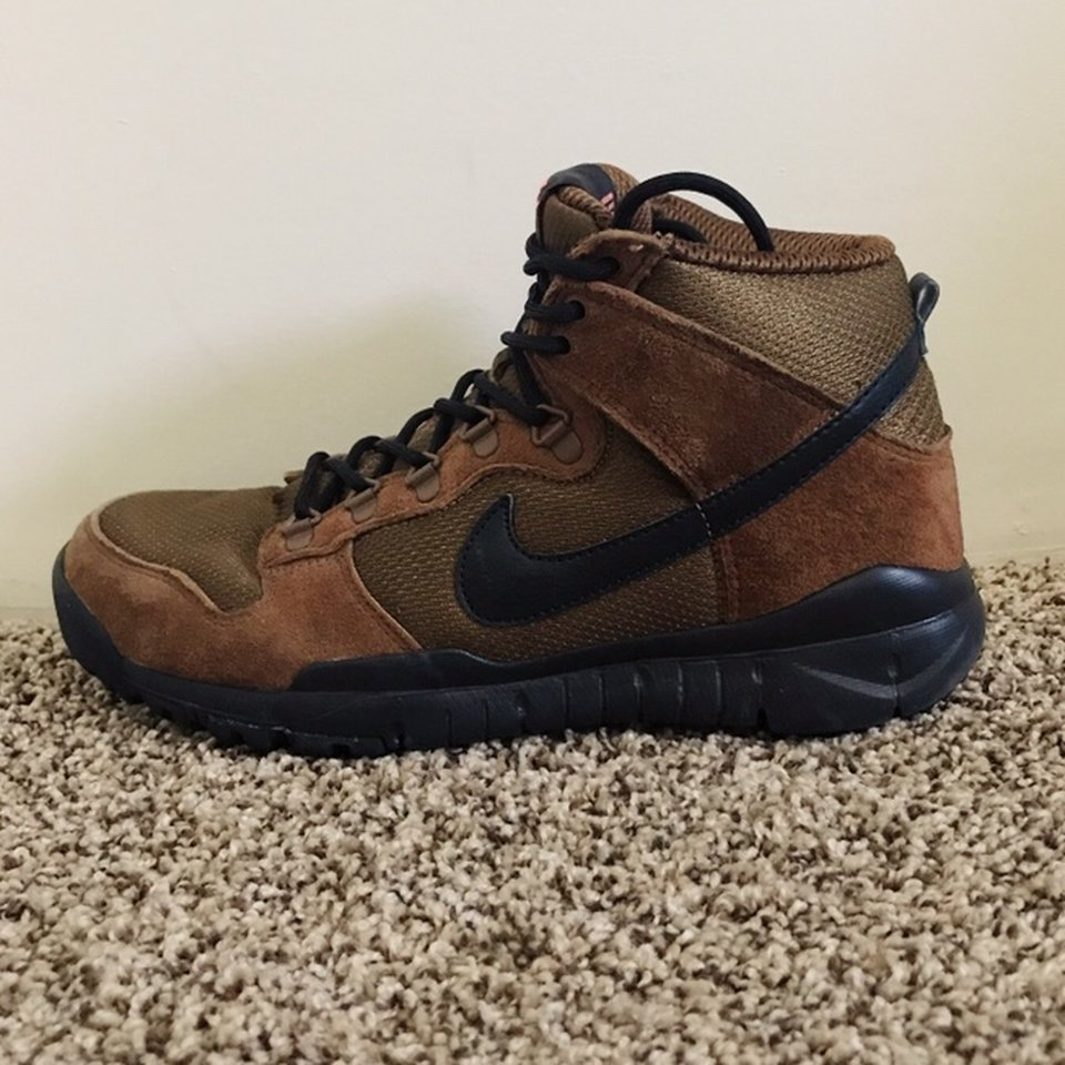 reputable site 49467 e8b72 Nike SB Dunk High Boots. Retail $120. Used a couple... - Depop
