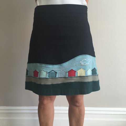 ebb617962a5 Midi skirt bought in Camden market from Nicola Quilter . and - Depop