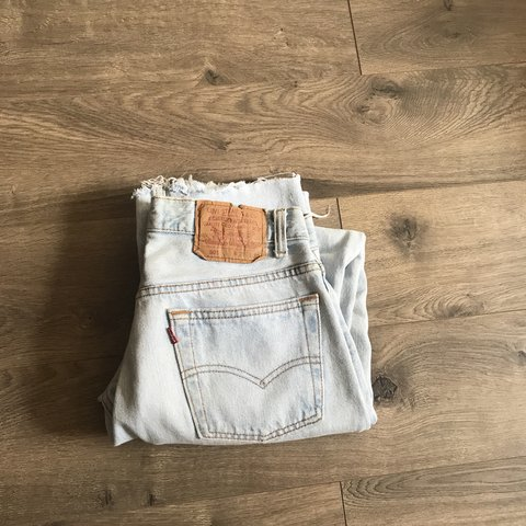 0eb87f2d @sandraeliassemaan. 10 months ago. New York, United States. Vintage Levi's  501 jeans. Light blue. These jeans do have some wear and spots. Really nice  wash ...