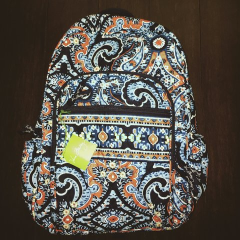 a2919c0f0 @ronkeadeyemo. 3 years ago. VERA BRADLEY MARRAKESH PRINT CAMPUS BACKPACK. BRAND  NEW ...