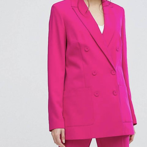 7e431c329692 Gorgeous oasis hot pink blazer! Bought over sized to be worn - Depop