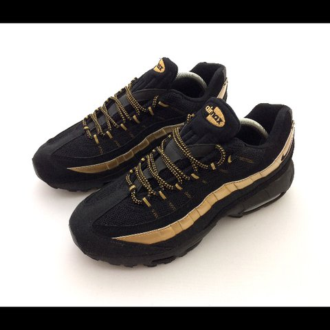sports shoes ef864 c7008  classy moose. 11 months ago. Chesterfield, United Kingdom. Nike air max 95  black gold!