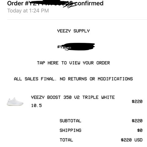 cfa7759b3 Will ship once they arrive. Purchased off of YEEZY SUPPLY I - Depop
