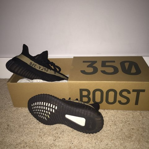 Unauthorised authentic (pic 3 4 provide proof) YEEZY 350 v2 - Depop 7a8ccaf96211