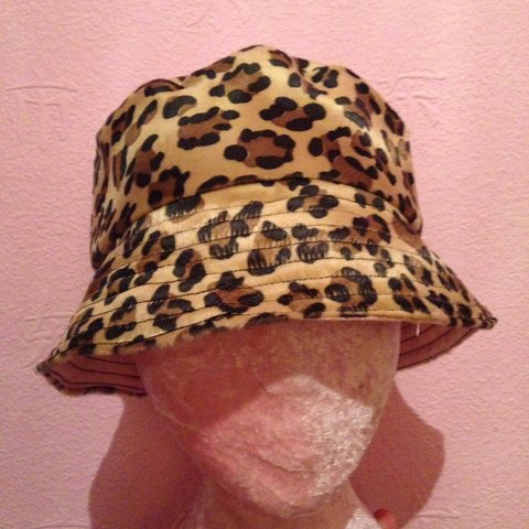 075651c8 @house_of_erotique. 9 months ago. Liverpool, United Kingdom. Listing for  @daisyphelps. Leopard print bucket hat