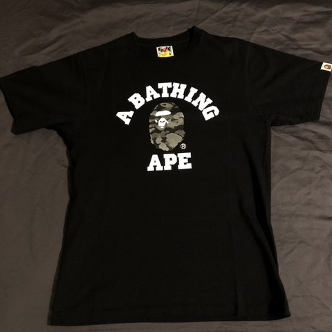 48152a3a @huy. 4 months ago. Oxford, United Kingdom. Bape Metallic reflective t shirt//  9/10 condition// ...