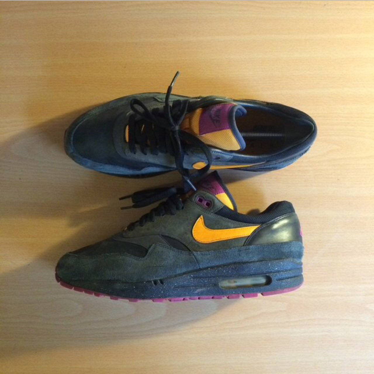 super popular a6a47 f03e4 Air Max 1 Premium  Terra Huarache  pack from 2006 in leather - Depop