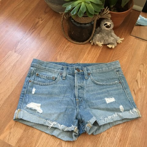 699d22a536b7 Urban Outfitters BDG 25w Tom girl mid rise shorts Light up