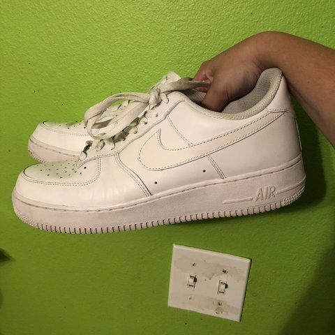 964d581ff4dfd 🔥  65 + FREE SHIPPING 🔥 THE CLEANEST AF1s ever! ALL WHITE - Depop