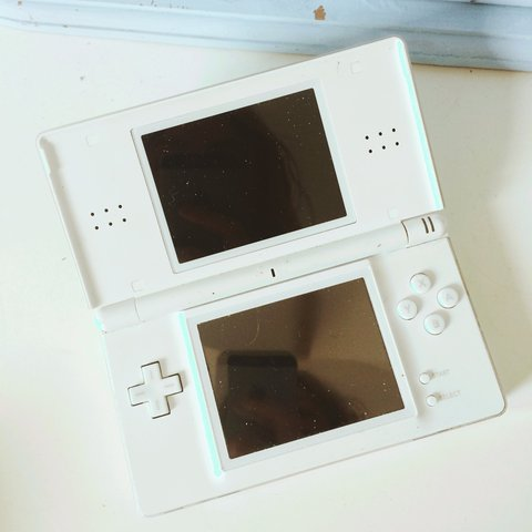 Fully Working Nintendo Ds Lite In White Charger Included Depop