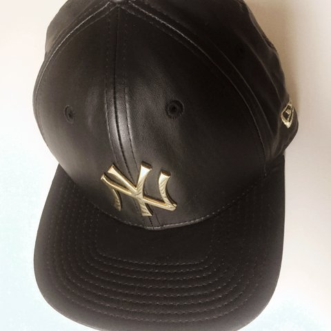 a555226916a0e NEW ERA New York Yankees Leather Baseball Cap