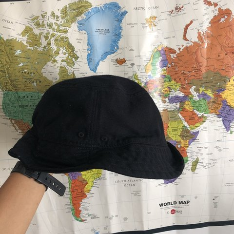 e09764ab895 BUCKET HAT from H M Size medium but it fits me like a small - Depop