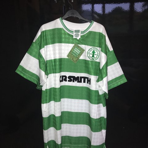 fe7e65bd9 Retro Celtic centenary shirt 1988 Size Large BNWT £35 all - Depop